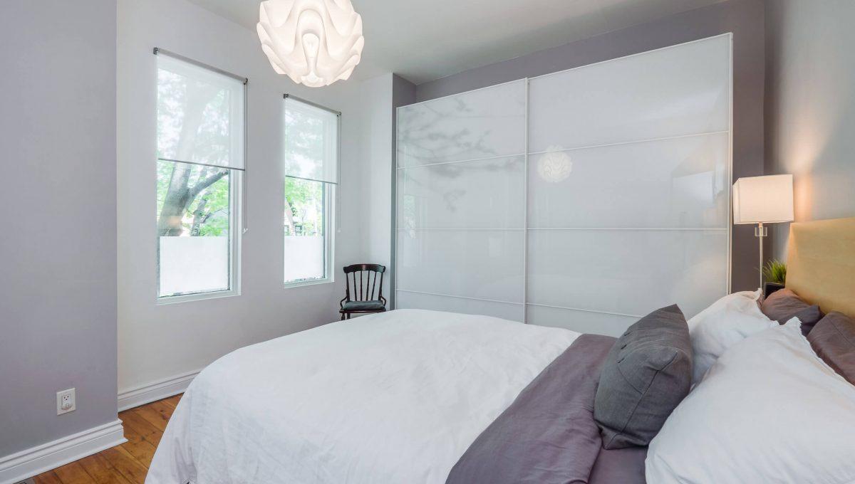 106 Sumach St - Master bedroom