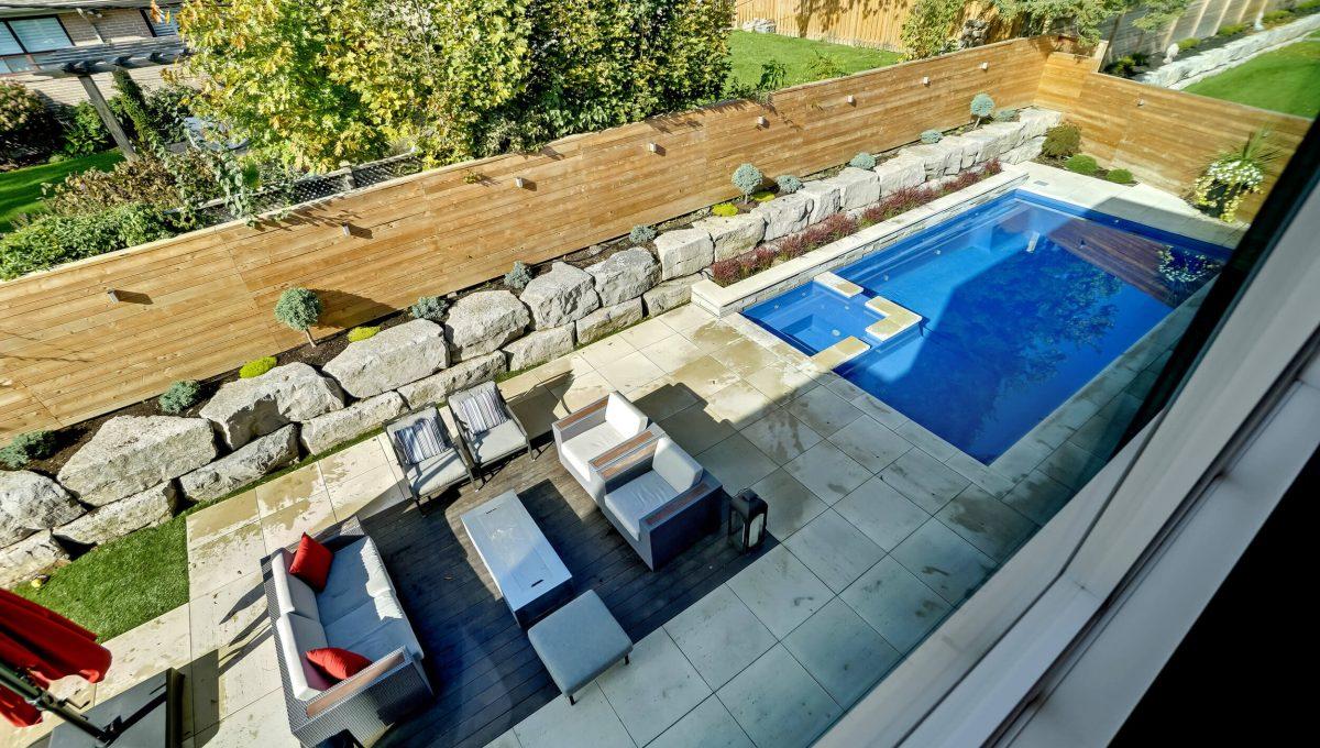 10 Valliere Place - Backyard