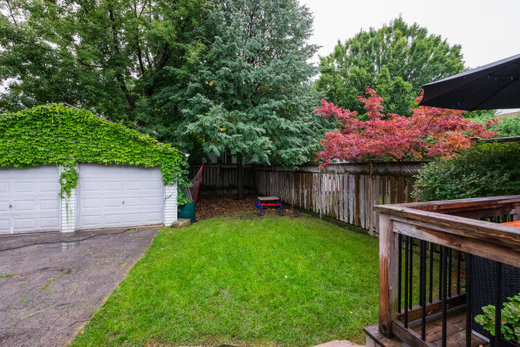 31 McNairn Ave - Backyard