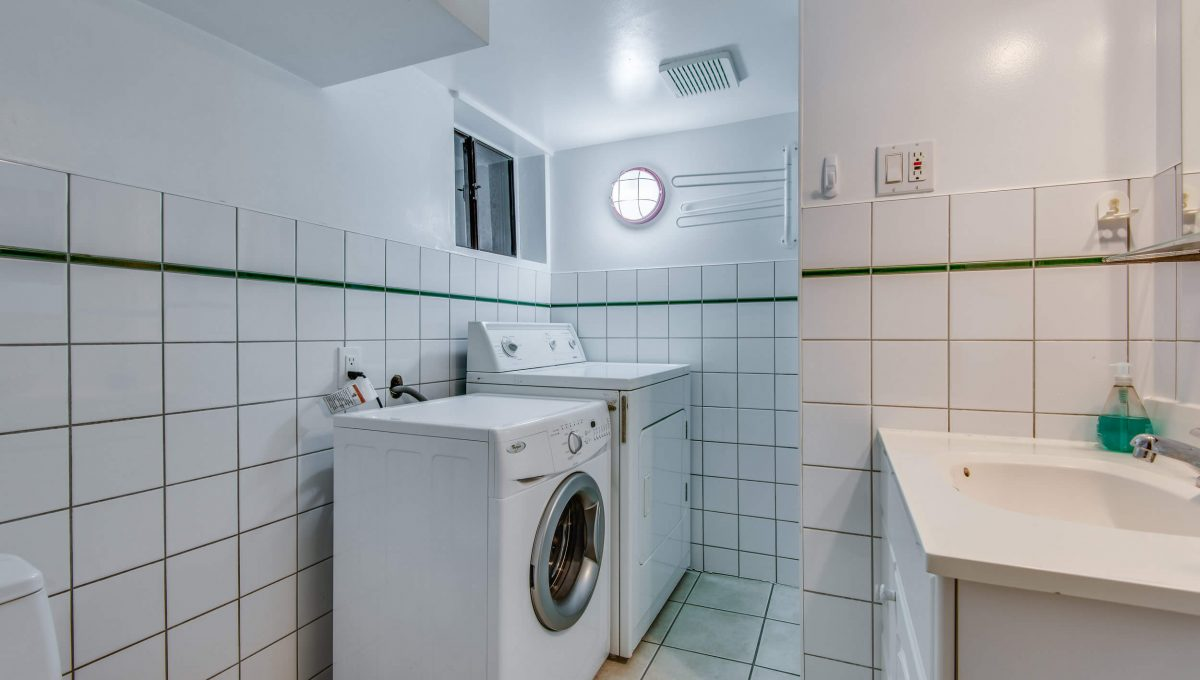 94 Curzon St - Bathroom laundry