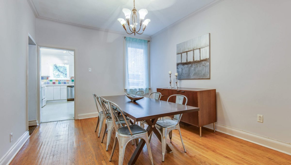 94 Curzon St - Dining room