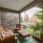 94 Curzon St - Front porch