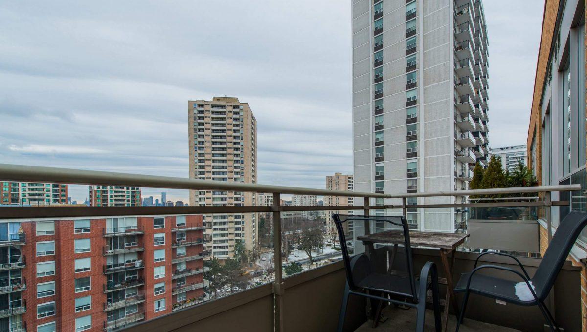 Uph2-245 Davisville Ave - Balcony