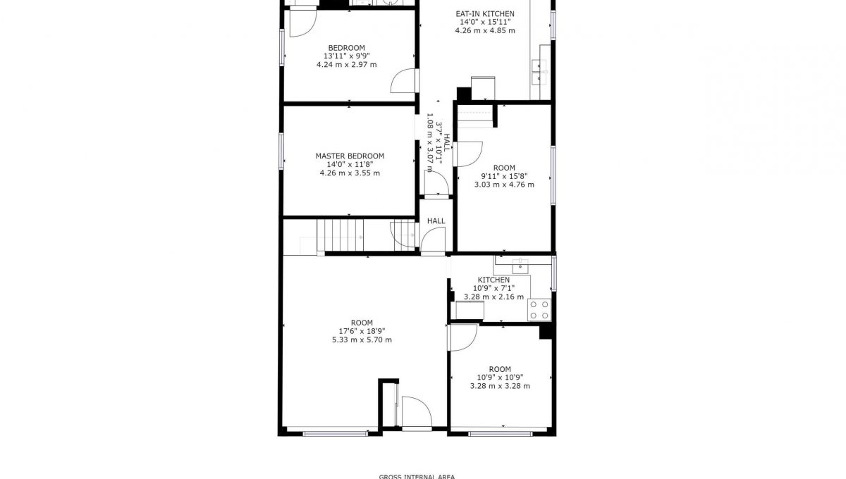 189 Churchill Ave - Floor plan - Main floor