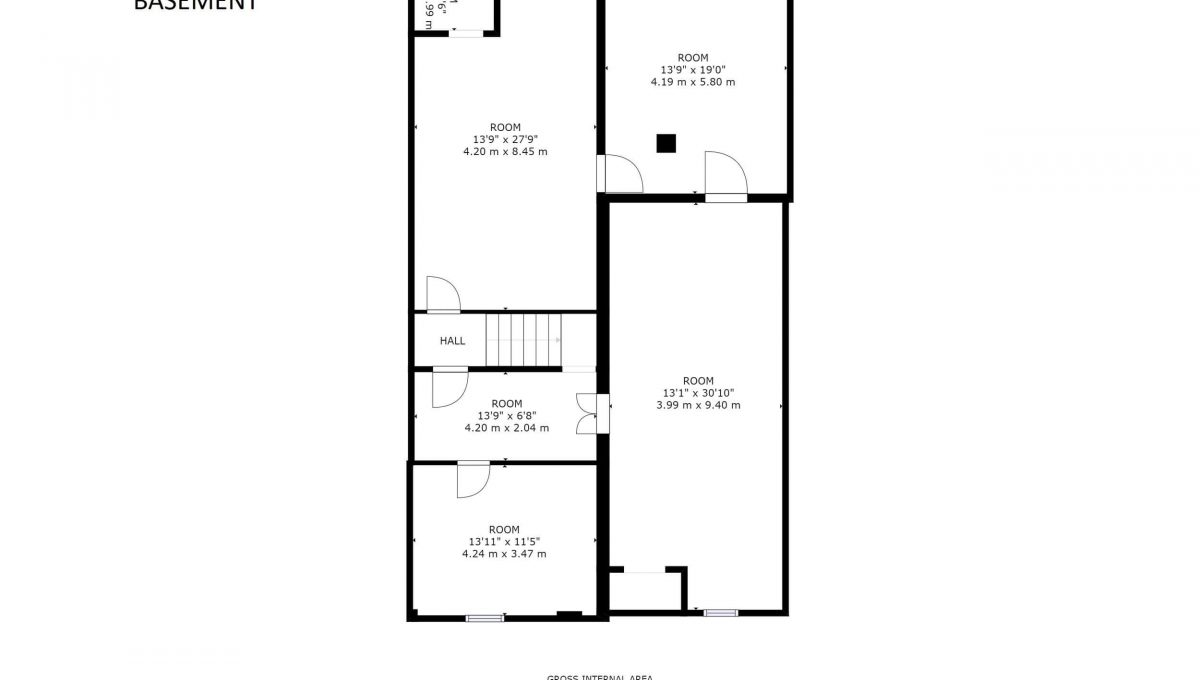 189 Churchill Ave - Floor plan - Basement