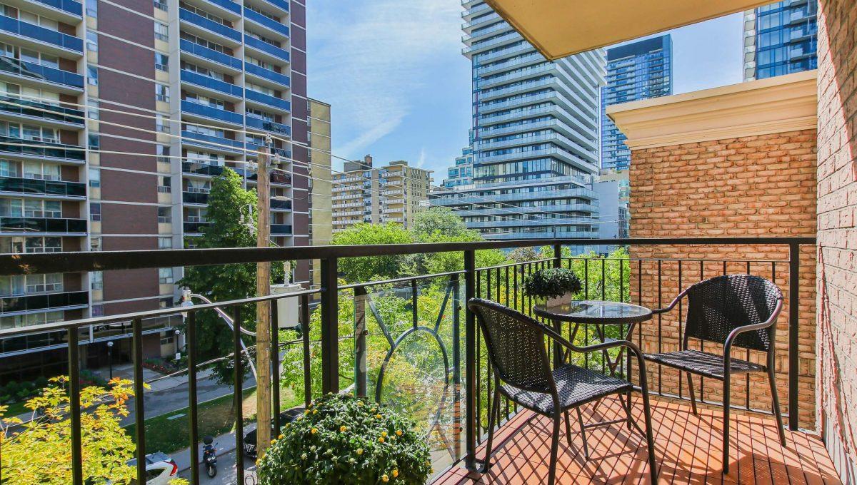 409-188 Redpath Avenue - Balcony