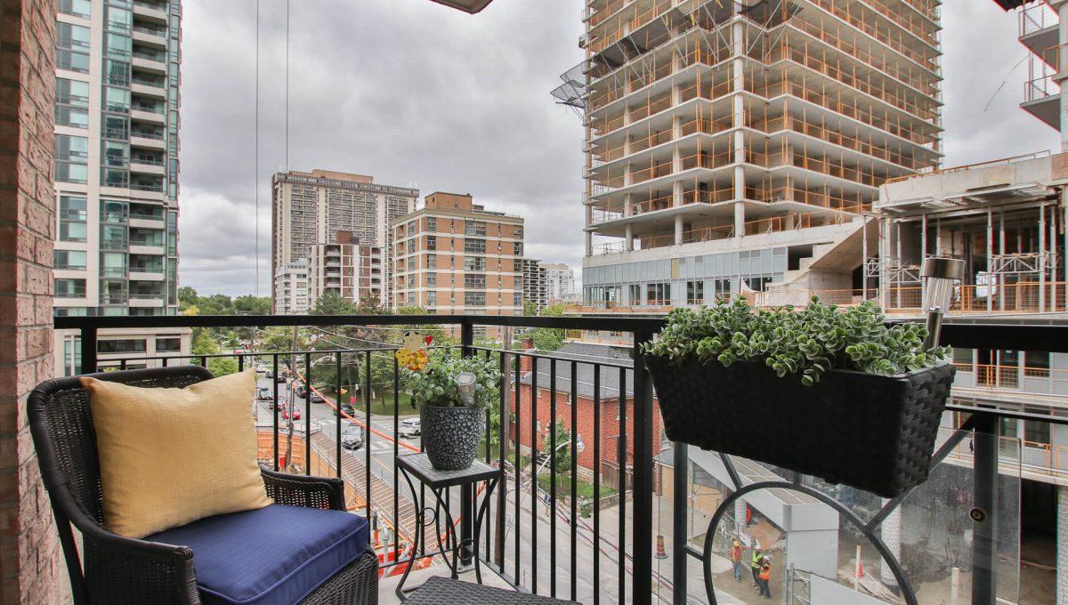 504-188 Redpath Avenue - Balcony