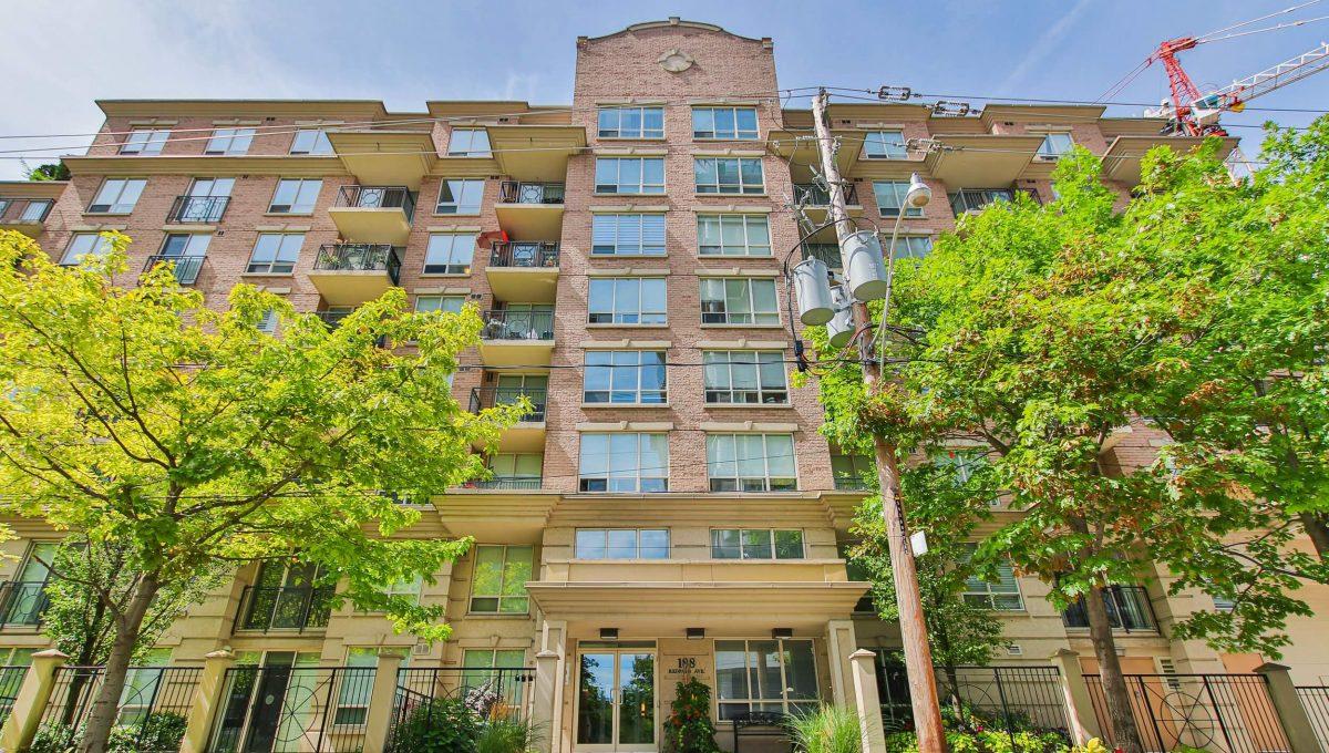 504-188 Redpath Avenue - Exterior
