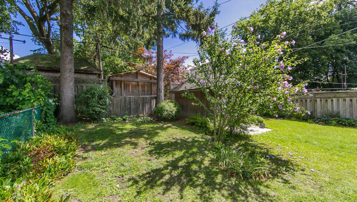 117 Linsmore Crescent - Backyard