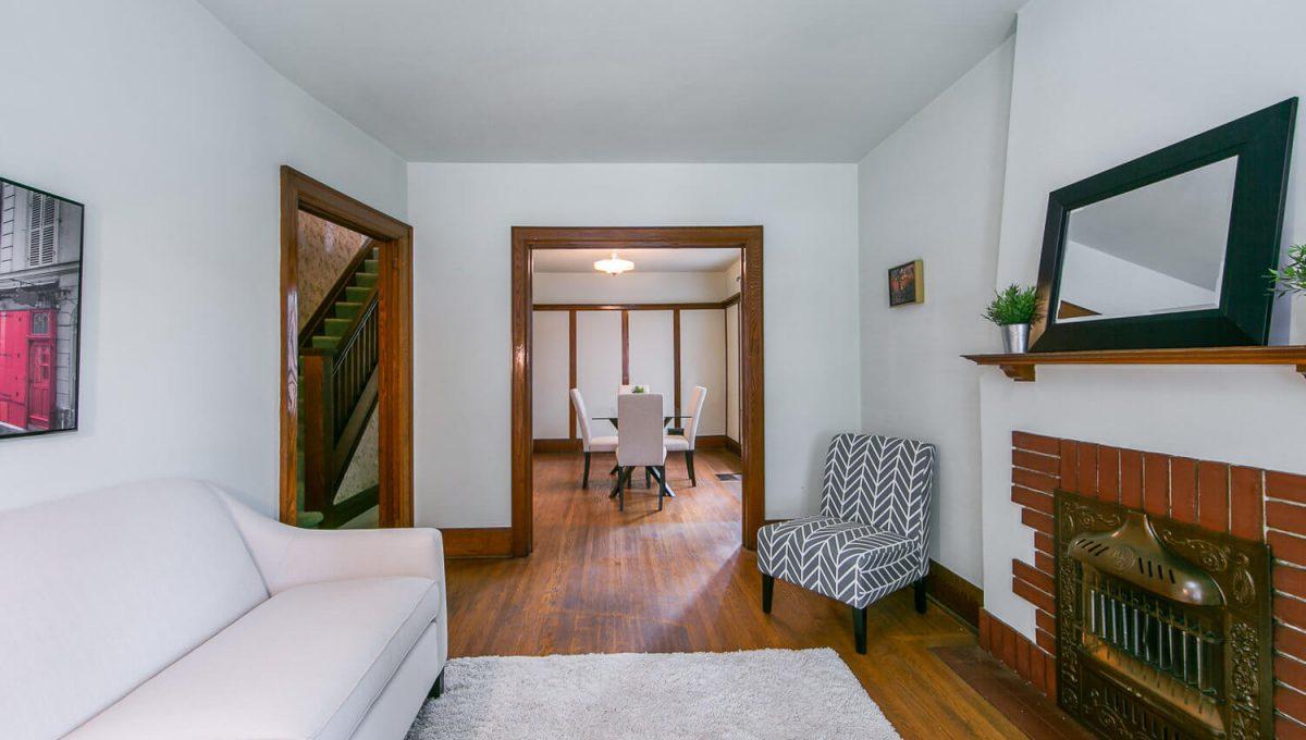 117 Linsmore Crescent - Living Room