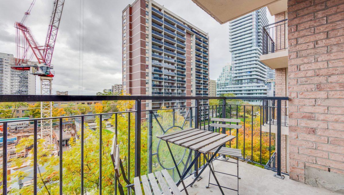 505-188 Redpath Avenue - Balcony