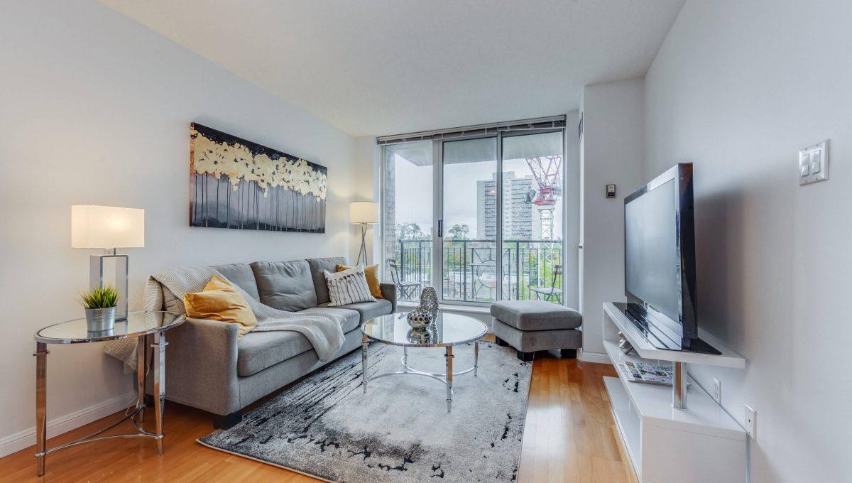 505-188 Redpath Avenue - Living Room