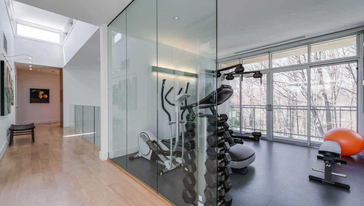 6 King Maple Place - Gym