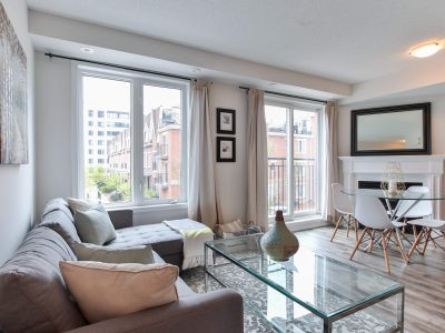614-15 Laidlaw Street - Living Room