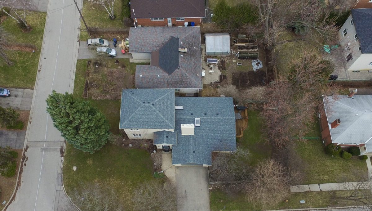 1 Michigan Dr - Aerial view
