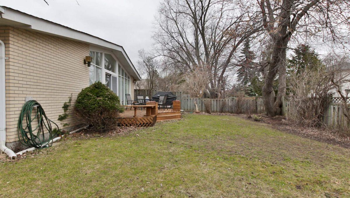 1 Michigan Dr - Backyard