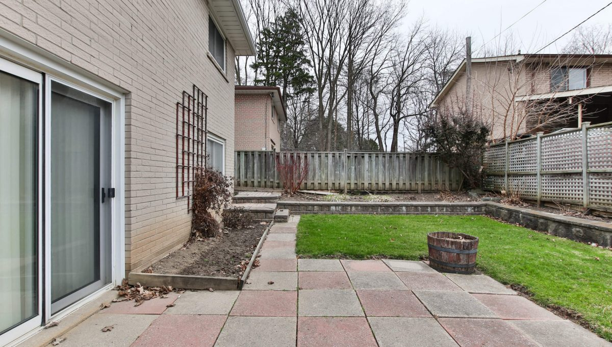 111 Rameau Dr - Backyard