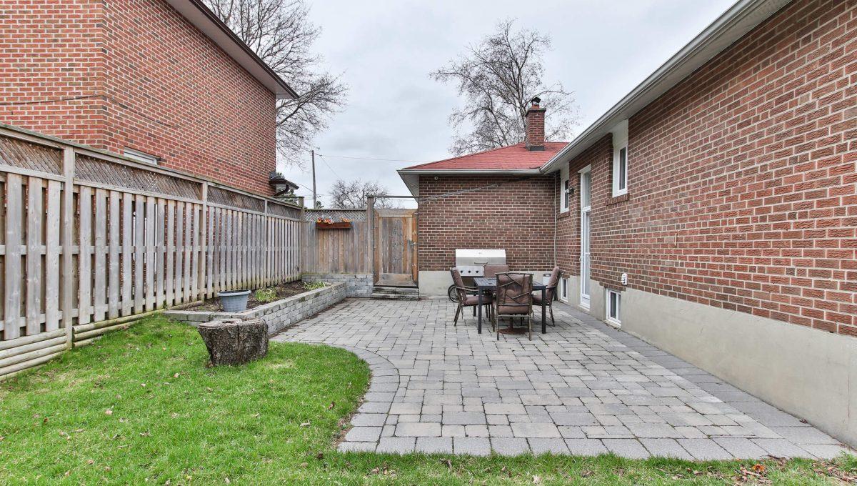 25 Allview Crescent - Backyard
