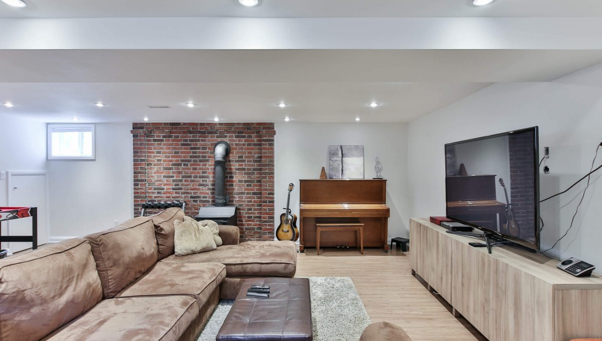 25 Allview Crescent - Basement living room