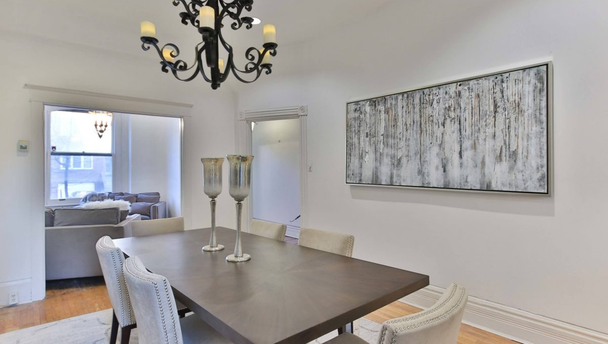 40 Boulton Ave - Dining room