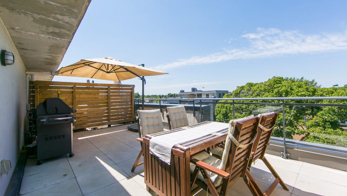 403-57 Macaulay Ave - Rooftop terrace