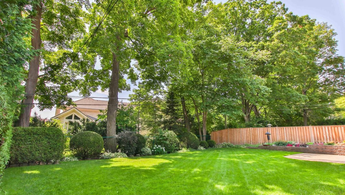 9 Restwell Cres - Backyard