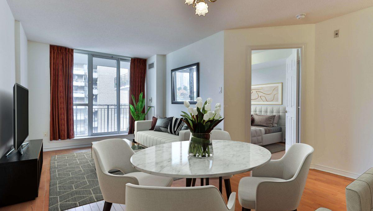 300 Balliol_Living Room