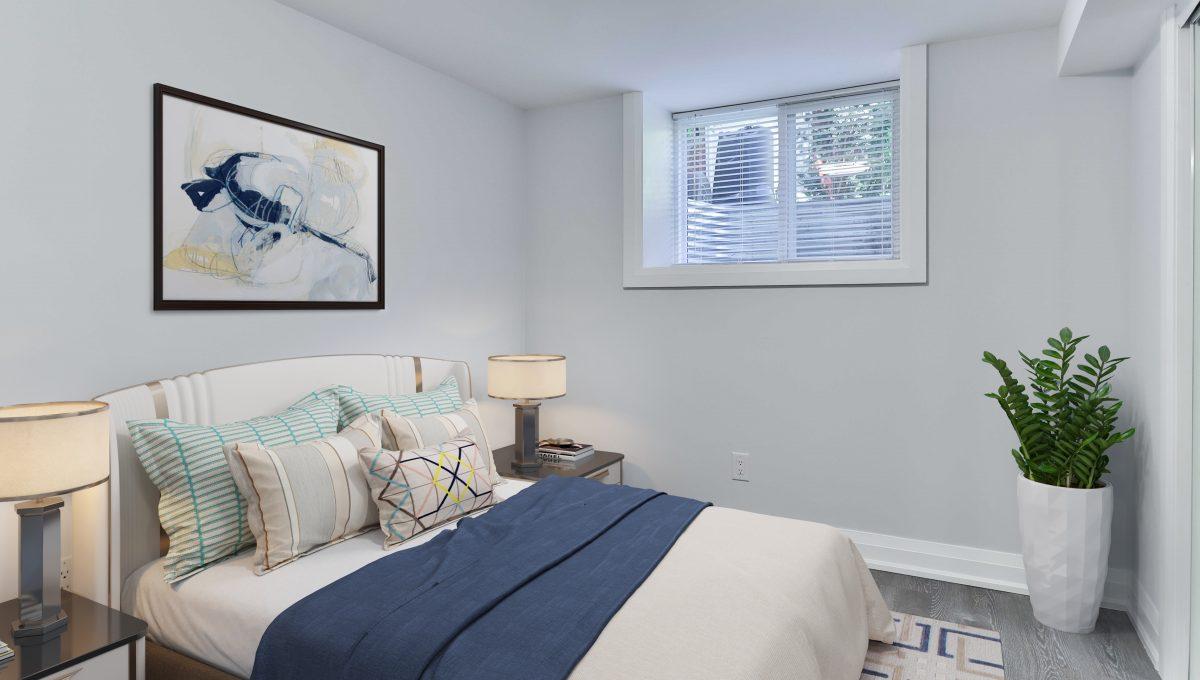 67_BasementUnit - bedroom